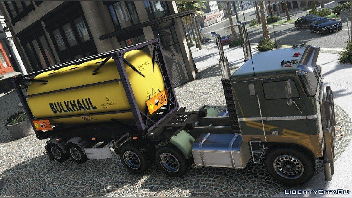 Машина Gas Trailer (Replace) 1.0 для GTA 5
