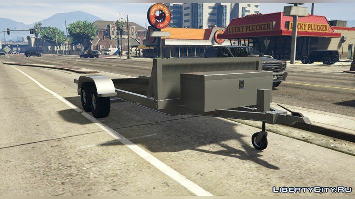 Машина Car Trailer [Add-On] для GTA 5