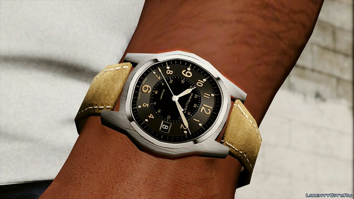 ��асы и украшение Hamilton Khaki Field Officers Timepiece для GTA 5