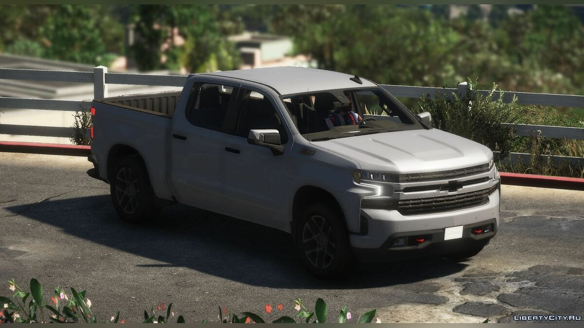 Машина Chevrolet 2020 Chevrolet Silverado 1500 Crew Cab Trail Boss LT [Add-On / Replace | Template] 0.2 для GTA 5