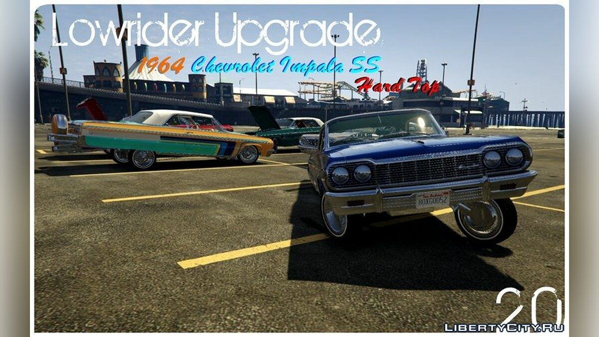Chevrolet Impala 1964 SS Hard Top 2.0 [Lowrider DLC Upgrade] для GTA 5