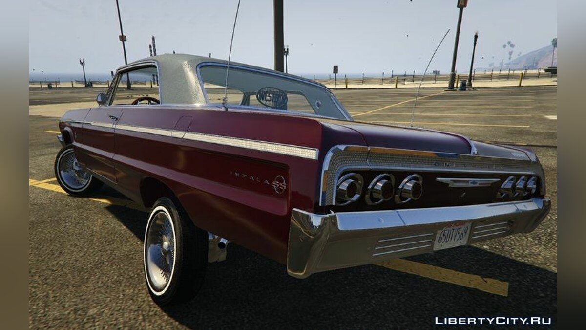 Chevrolet Impala 1964 SS Hard Top 2.0 [Lowrider DLC Upgrade] для GTA 5 - скриншот #4