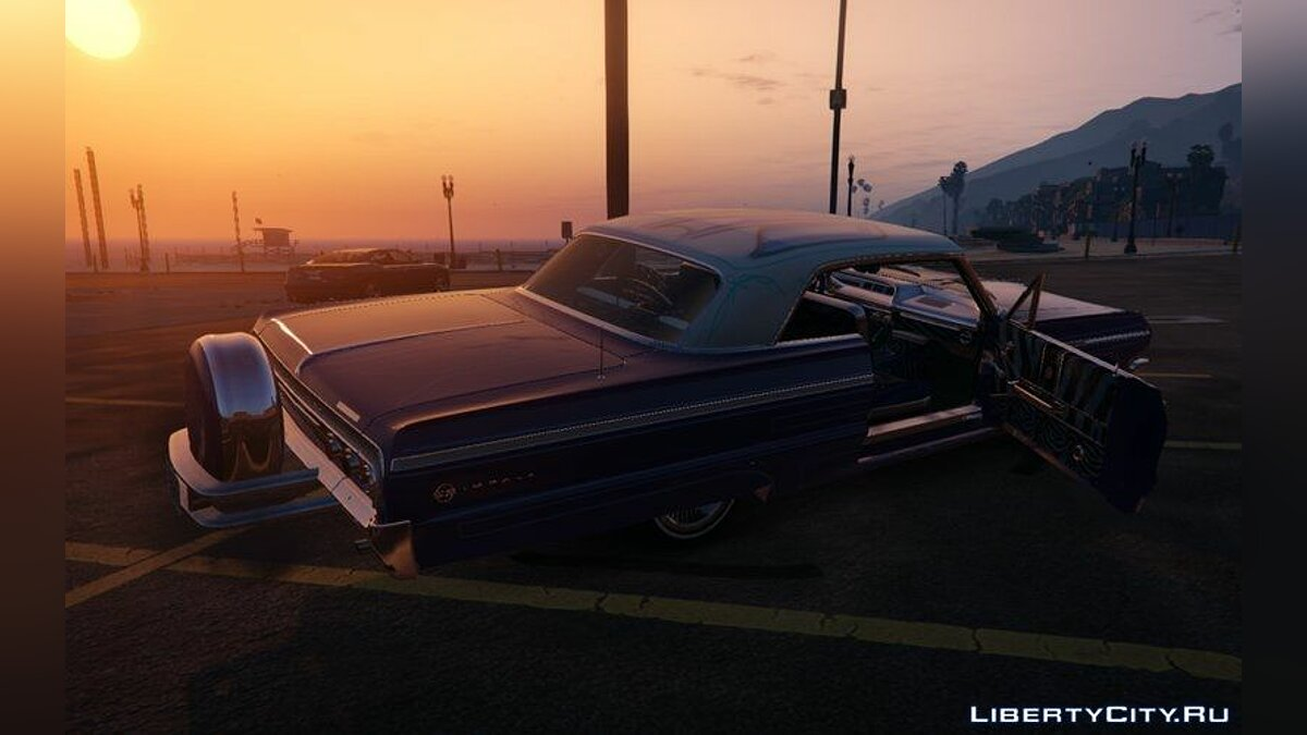 Chevrolet Impala 1964 SS Hard Top 2.0 [Lowrider DLC Upgrade] для GTA 5 - скриншот #3