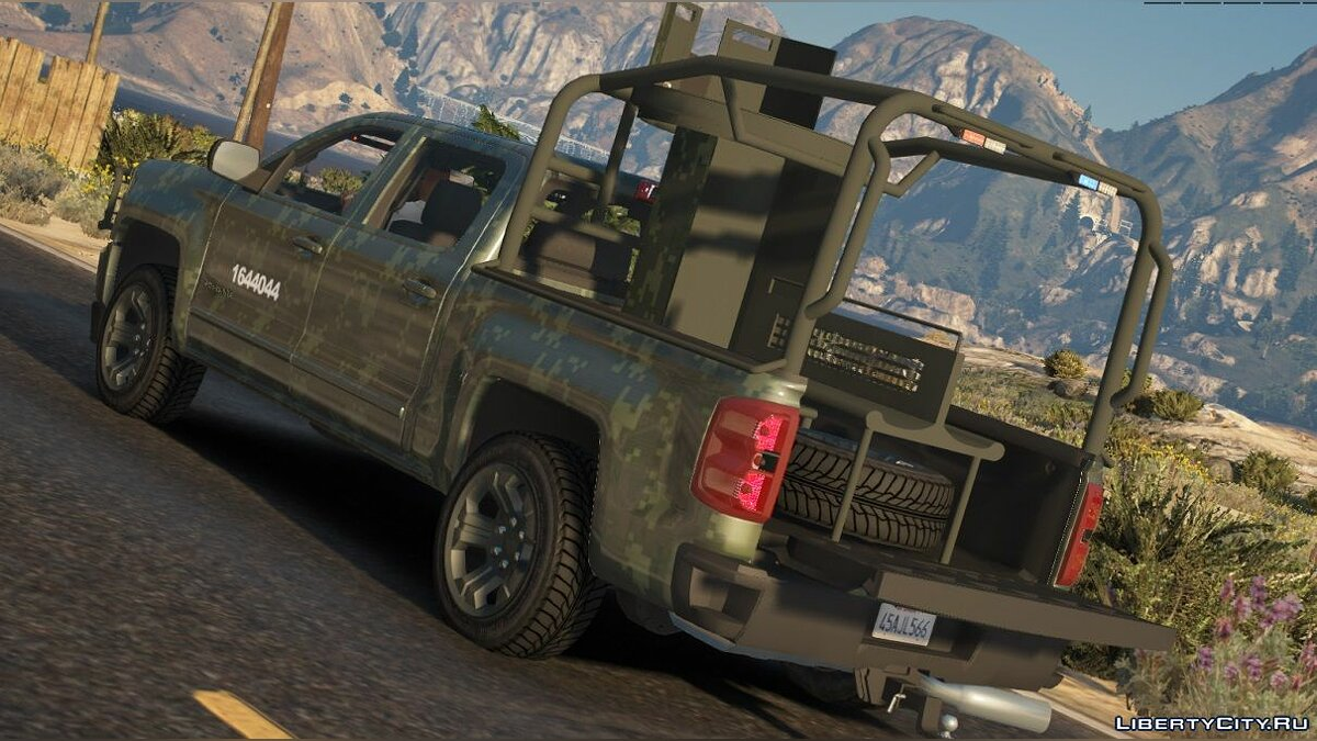 Машина Chevrolet Chevrolet Cheyenne 2017 (SEDENA) [Add-On | Replace] 1.1 для GTA 5
