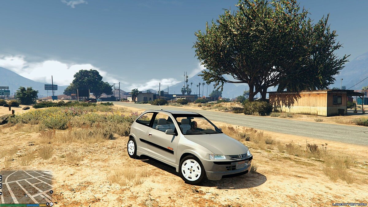 Chevrolet Celta Energy 1.4 v0.1 для GTA 5