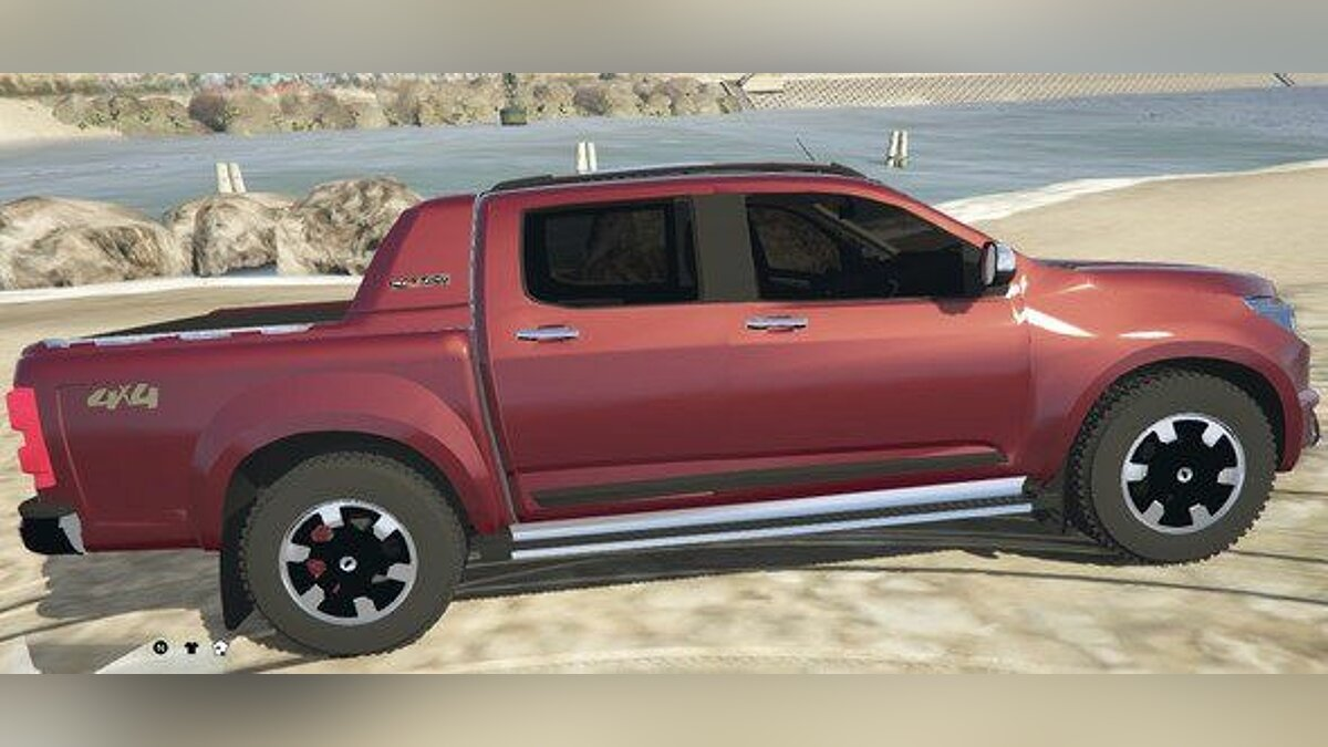 Машина Chevrolet CHEVROLET - S10 High Country 2015 V2 для GTA 5