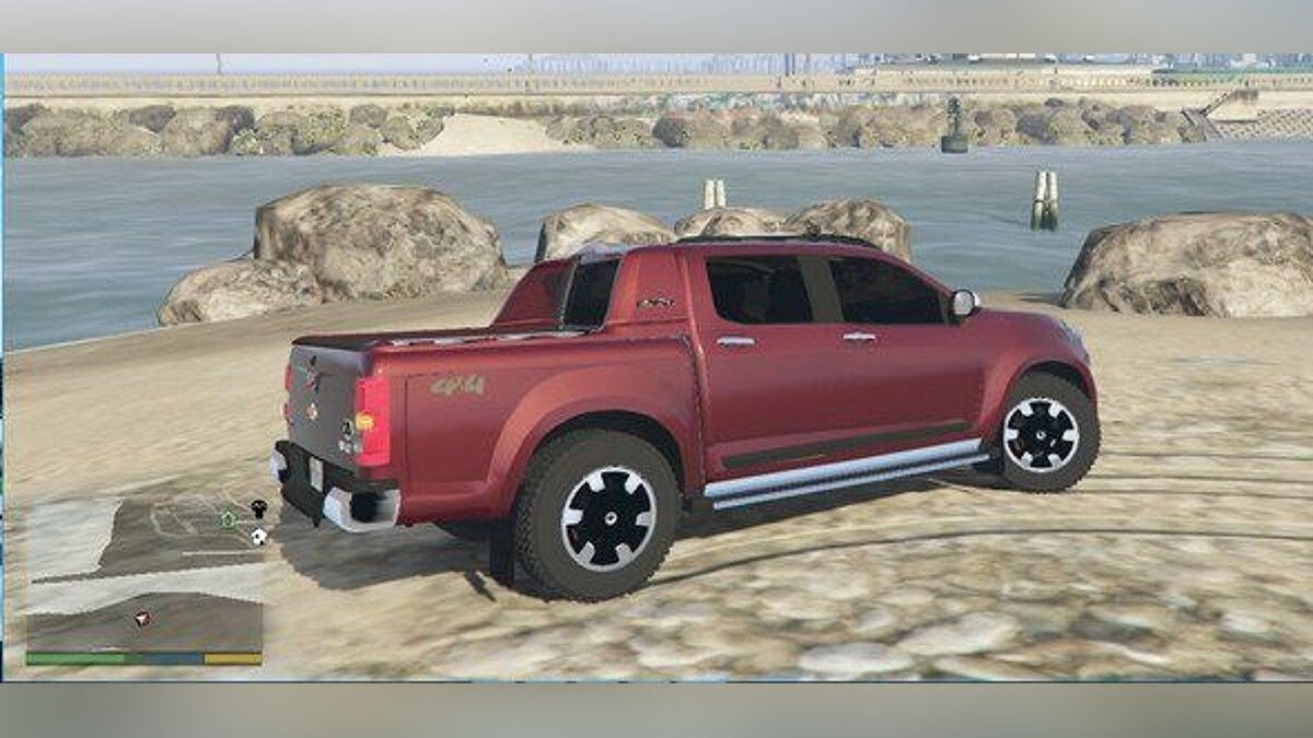 ��ашина Chevrolet CHEVROLET - S10 High Country 2015 V2 для GTA 5