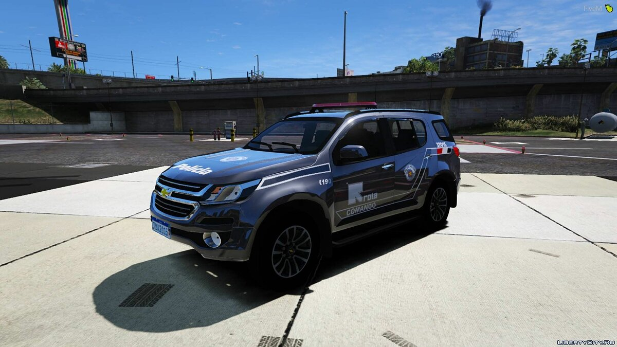 Машина Chevrolet Chevrolet Trailblazer 2019 - ROTA [FiveM | Add-On | Replace] 1.0 для GTA 5
