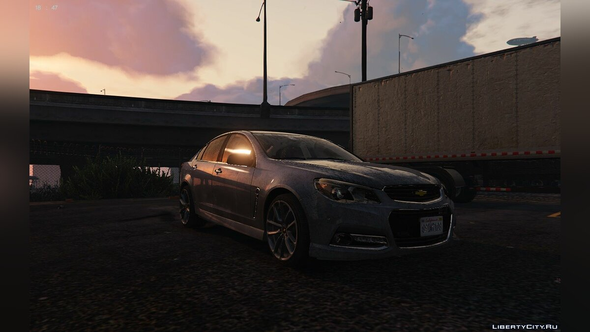 Chevrolet SS 2014 (Replace + tuning) final для GTA 5