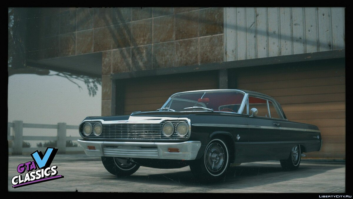 Машина Chevrolet 1964 Chevrolet Impala SS [Add-On | Extras | Tuning | LODs | Template] 1.0 для GTA 5