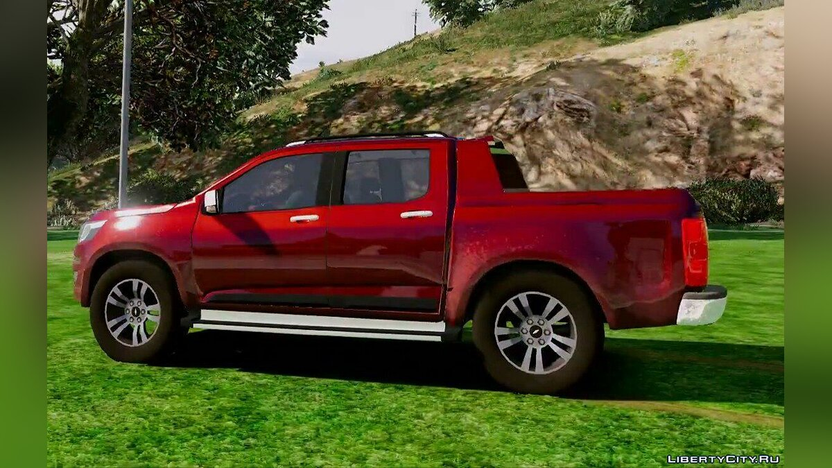 ��ашина Chevrolet S10 2017 High Country 1.0 для GTA 5