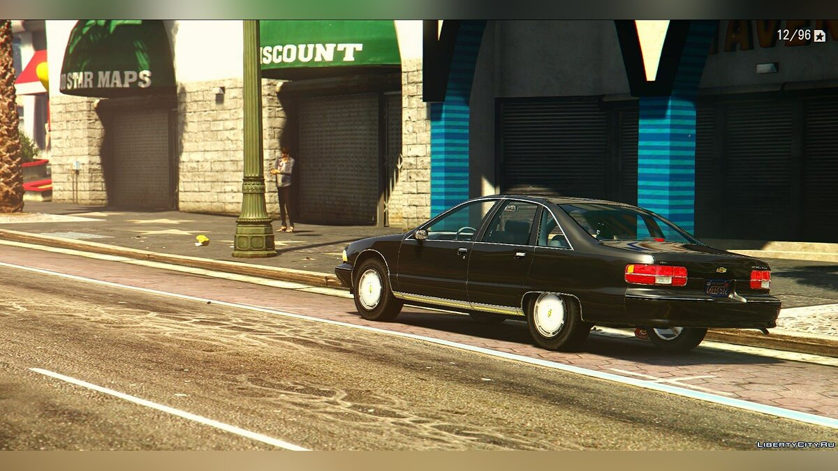 1991 Chevrolet Caprice [Add-On / Replace] 2.0 для GTA 5