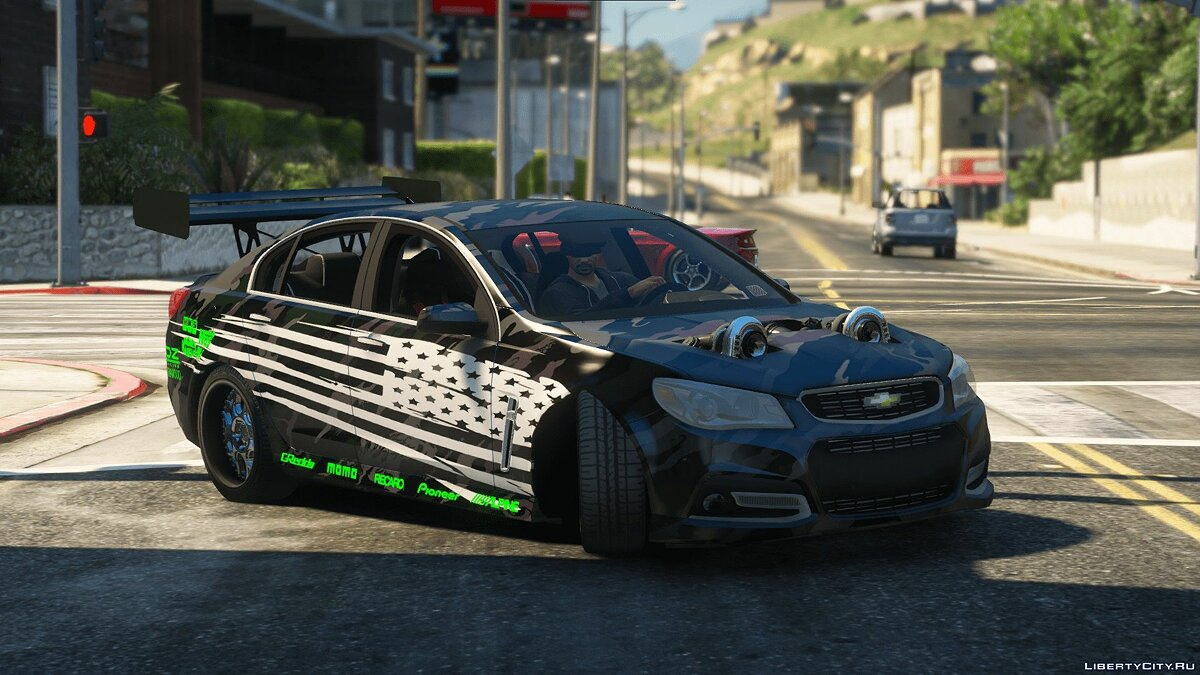 Машина Chevrolet 2017 Chevrolet SS Drift/Time Attack [Replace / FiveM] 1.0.1 для GTA 5