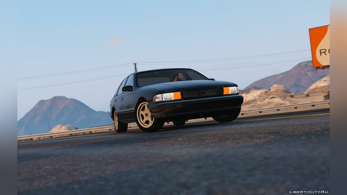 1996 Chevrolet Impala SS [Add-On / Replace | Wipers] 1.2 для GTA 5