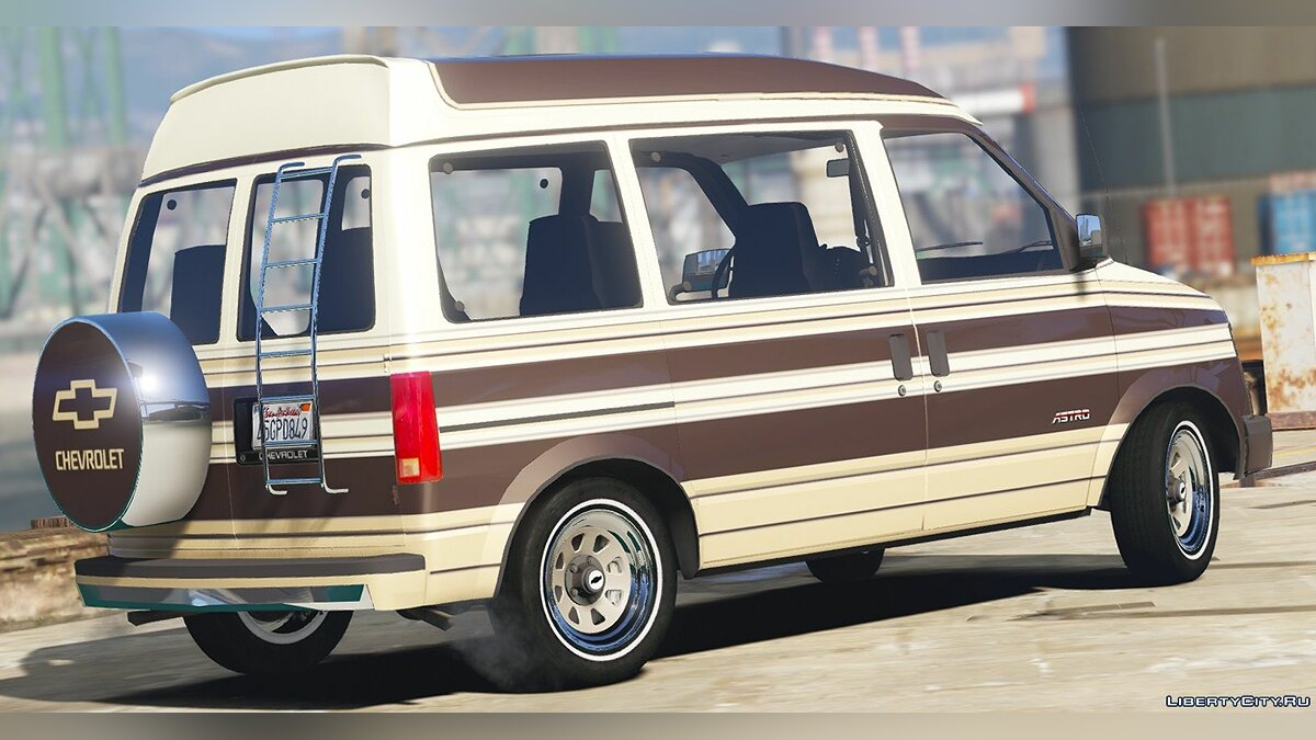 Машина Chevrolet 1988 Chevrolet Astro 3-Car Pack [Add-On / Replace | Extras | LODs | Template] 1.1 для GTA 5