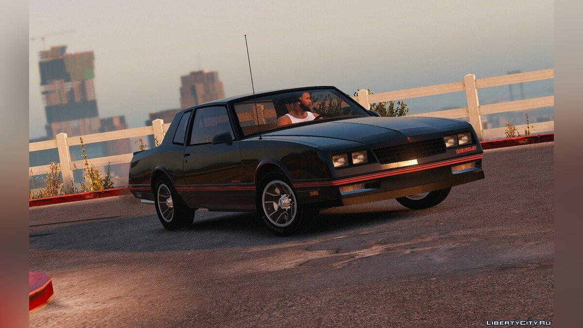 Chevrolet Monte Carlo SS '88 [Add-On | Tuning] 1.0 для GTA 5