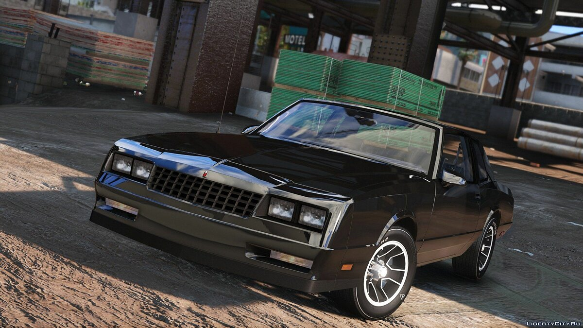 Chevrolet Monte Carlo SS '88 [Add-On | Tuning] 1.0 для GTA 5 - скриншот #3
