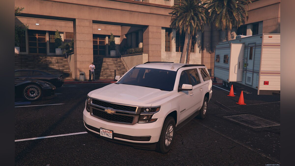 2016 Chevrolet Suburban [Add-On / Replace] 1.2 для GTA 5 - скриншот #2