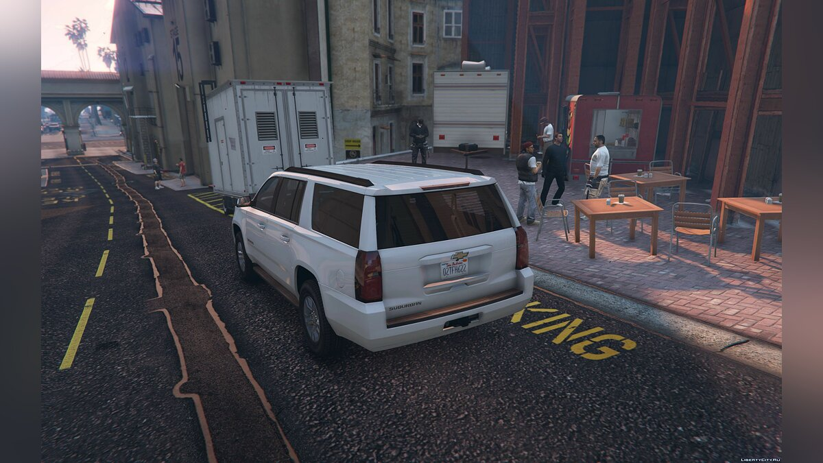 2016 Chevrolet Suburban [Add-On / Replace] 1.2 для GTA 5 - скриншот #3