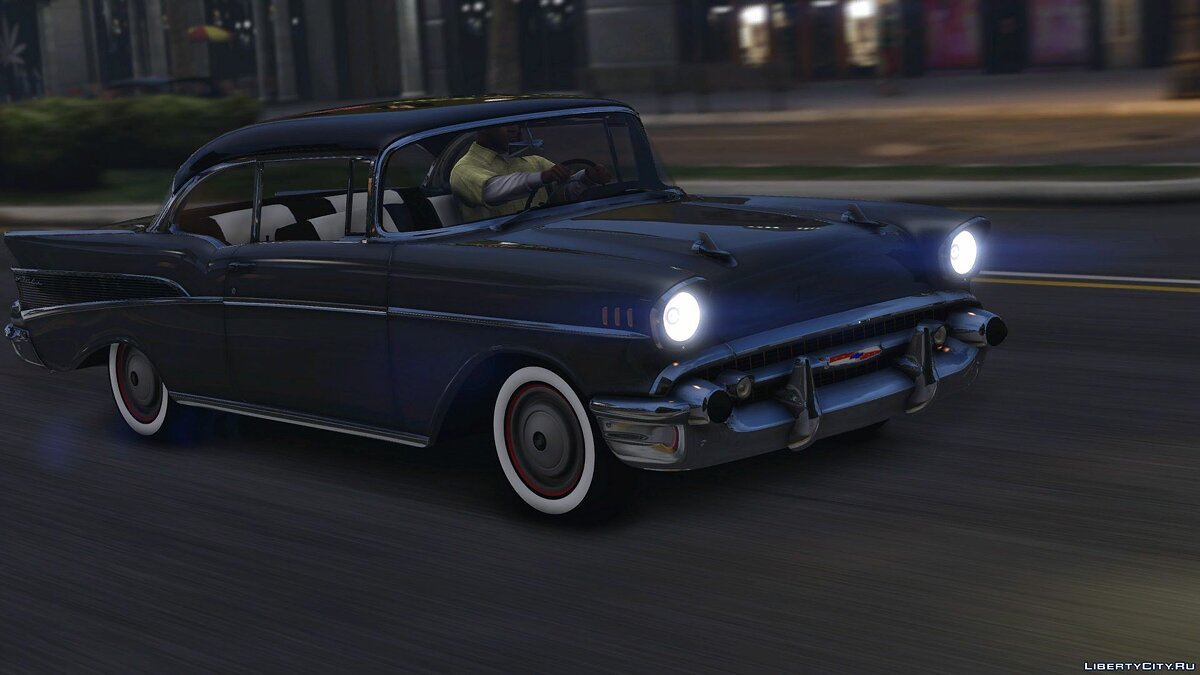57´Chevy Bel Air [Add-On | Animated] 1.0 для GTA 5