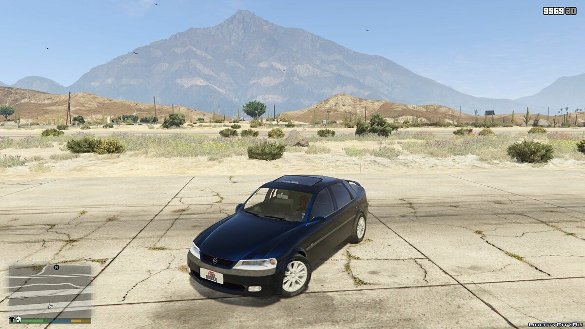 Chevrolet Vectra Cd 1997 2.2 16v для GTA 5