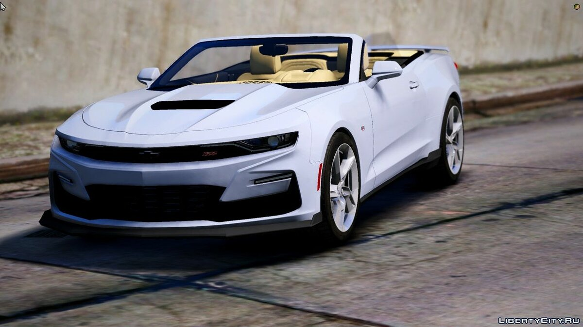 Машина Chevrolet Camaro SS 2021 Cabriolet [Add-On / FiveM] 1.0 для GTA 5