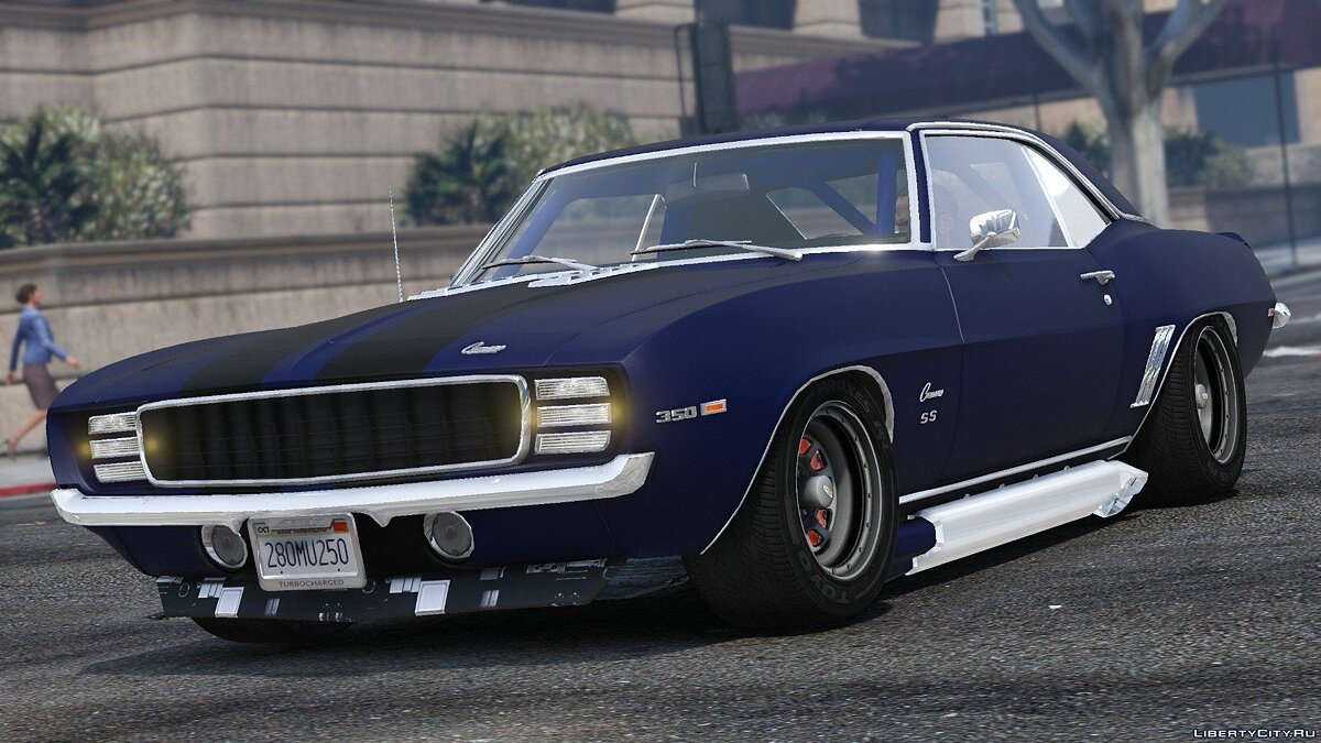 1969 Chevrolet Camaro SS [Add-On] 1.1 для GTA 5