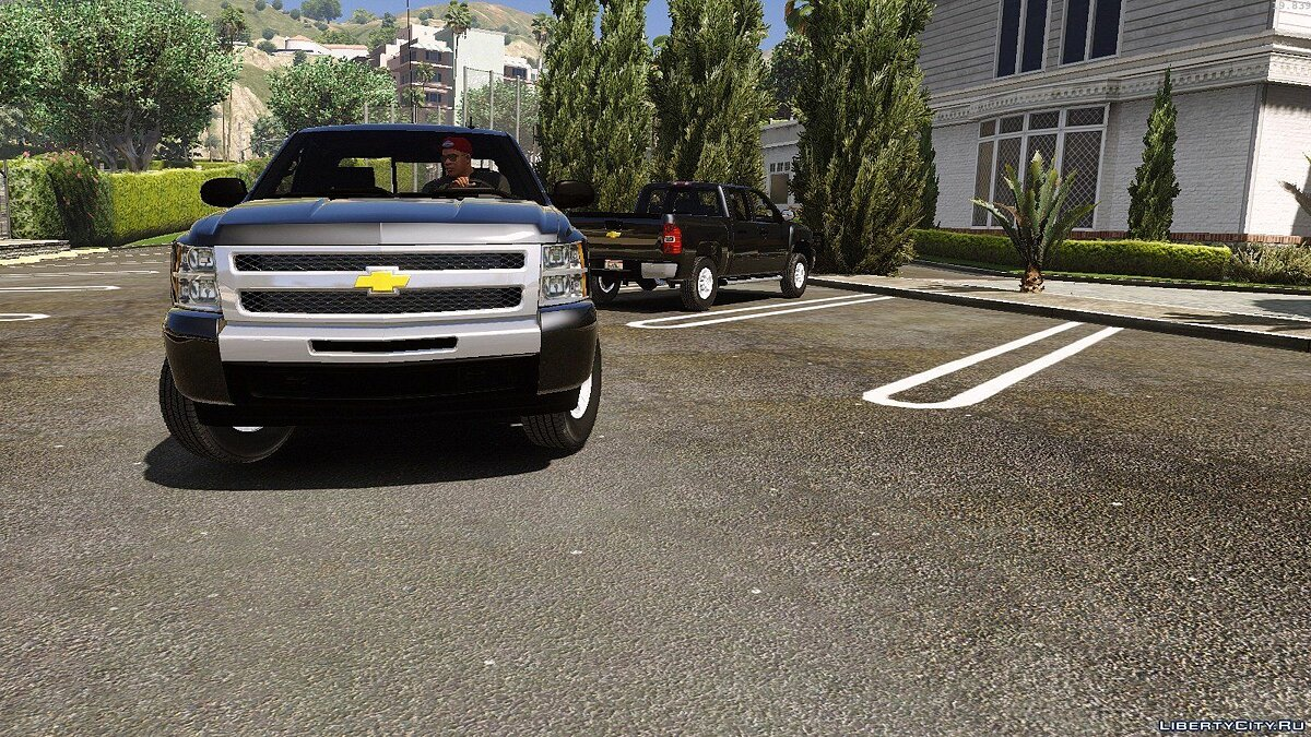 2010 Chevrolet Silverado 1500 crew cab [Add-on|Replace|Animated] 1.0 для GTA 5