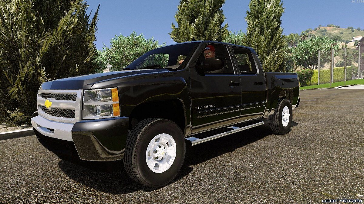 ��ашина Chevrolet 2010 Chevrolet Silverado 1500 crew cab [Add-on|Replace|Animated] 1.0 для GTA 5