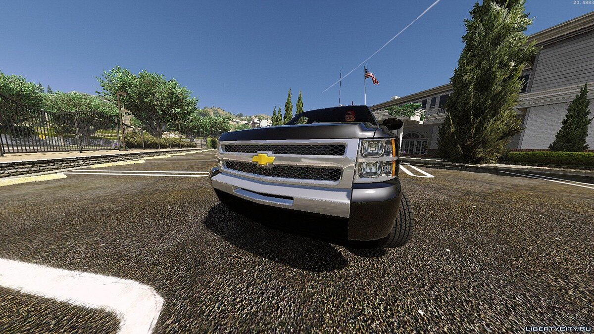 2010 Chevrolet Silverado 1500 crew cab [Add-on|Replace|Animated] 1.0 для GTA 5 - скриншот #3