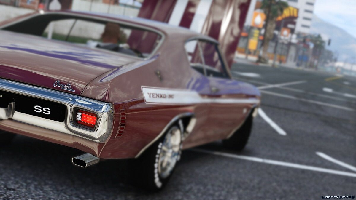 1970 Chevrolet Chevelle SS 454 [Add-On | HQ | Template] 1.2 для GTA 5