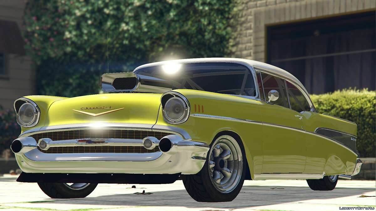 1957 Chevrolet Bel Air Sport Coupe [Tuning] 1.5 для GTA 5