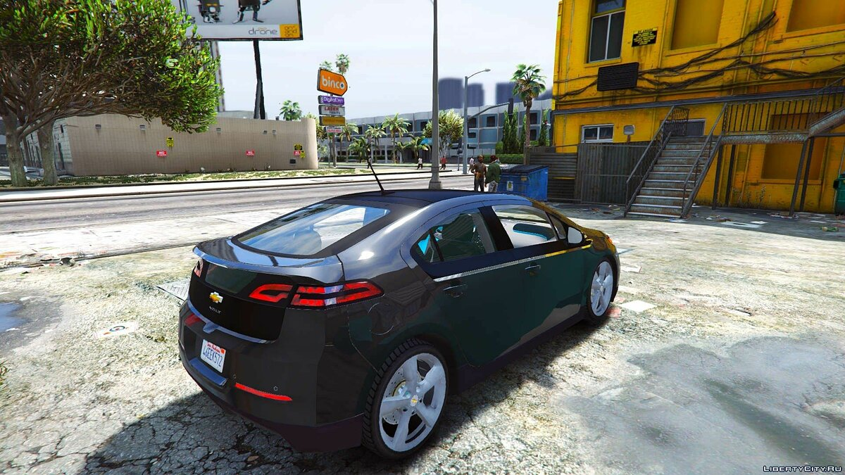 2012 Chevrolet Volt [Add-On / Replace] для GTA 5 - скриншот #6