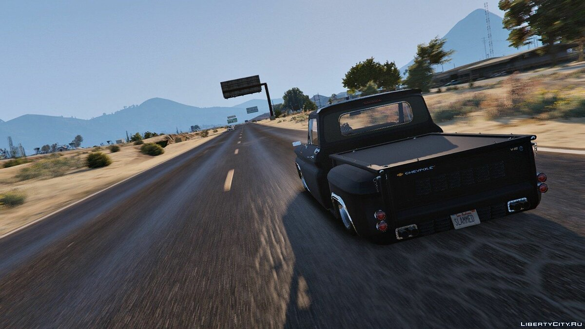 Chevrolet C10 Stepside (Tuned) [Add-On] 1.1 для GTA 5 - Картинка #1