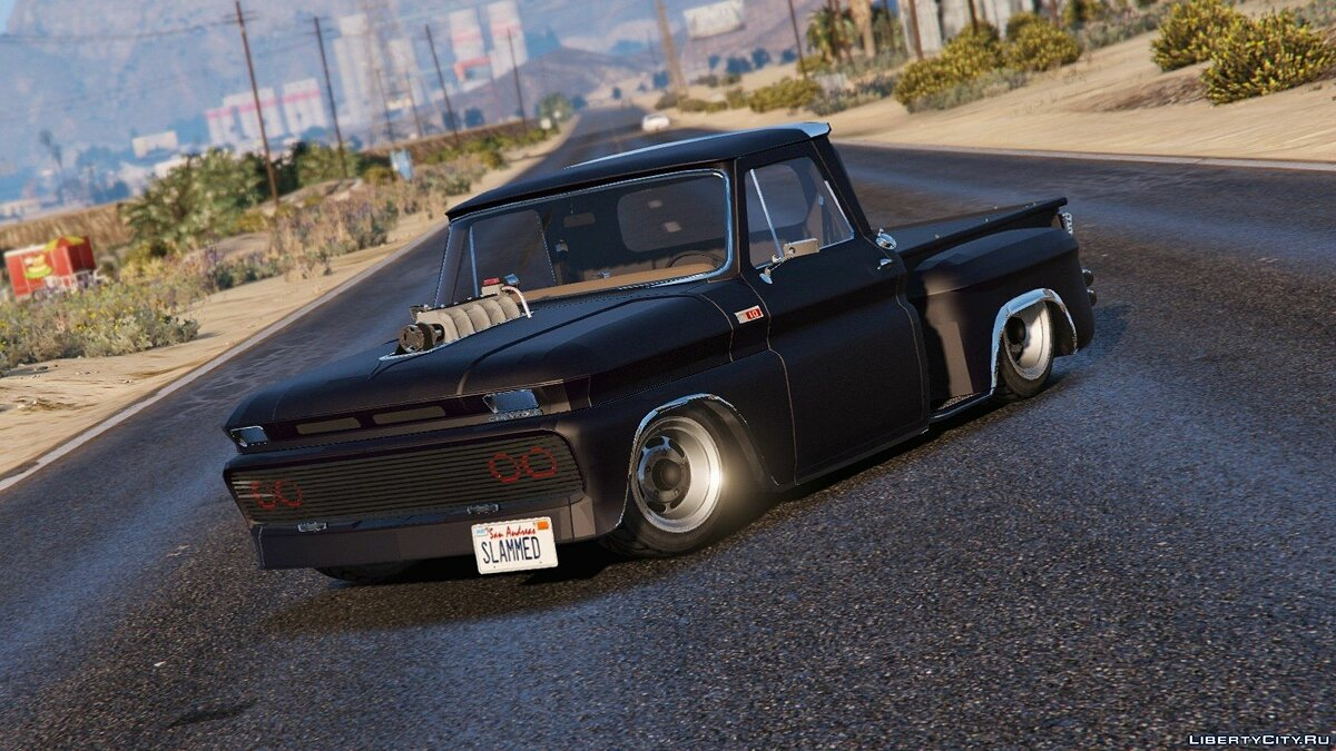 Chevrolet C10 Stepside (Tuned) [Add-On] 1.1 для GTA 5 - Картинка #2