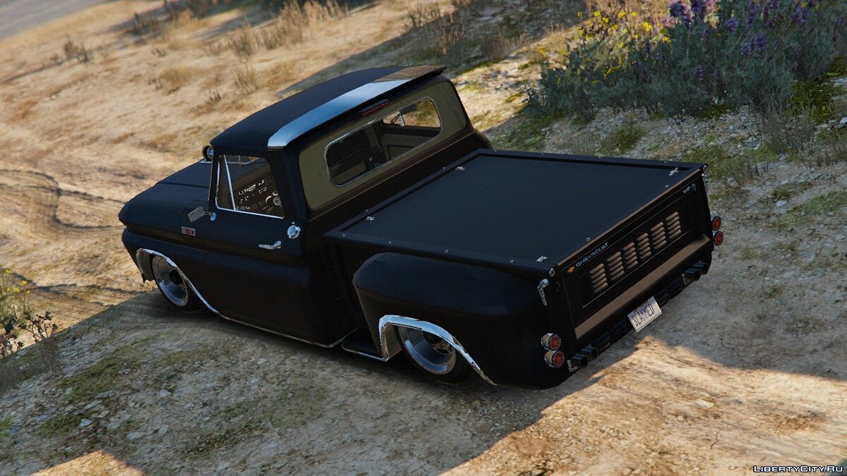Chevrolet C10 Stepside (Tuned) [Add-On] 1.1 для GTA 5 - Картинка #3