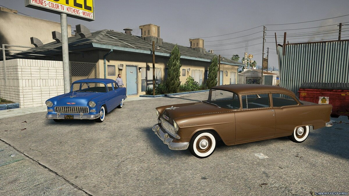 Машина Chevrolet Chevrolet 150 '55 [Add-On] 1.2 для GTA 5