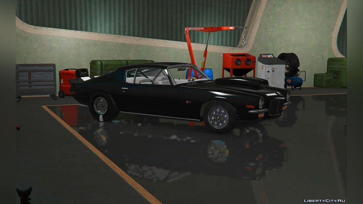 Машина Chevrolet 1970 Chevy Camaro Z28 [ADD-ON|FiveM] 1.1 для GTA 5