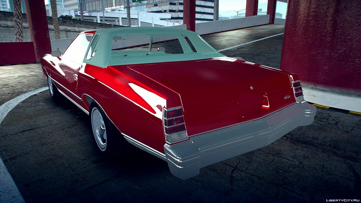 Машина Chevrolet 1977 Chevrolet Monte Carlo [Add-On | Unlocked] 1.0 для GTA 5