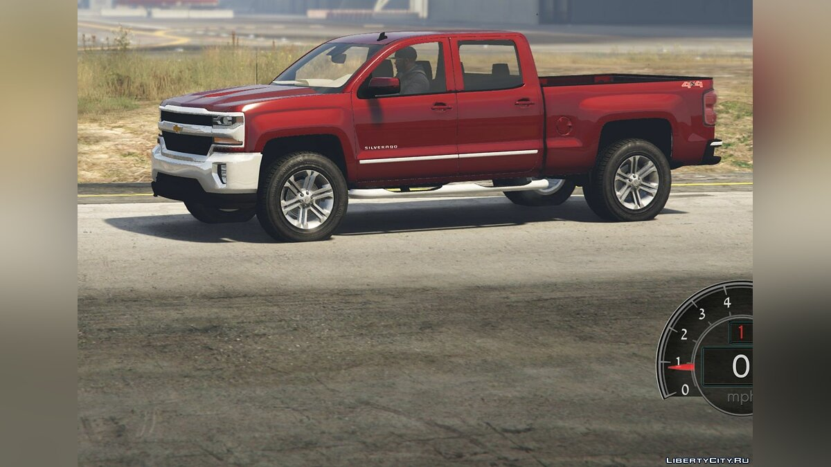 2017 Chevrolet Silverado LTZ 1500 Add-On/Replace 1.0 для GTA 5