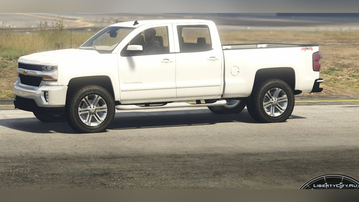 2017 Chevrolet Silverado LTZ 1500 Add-On/Replace 1.0 для GTA 5 - скриншот #2