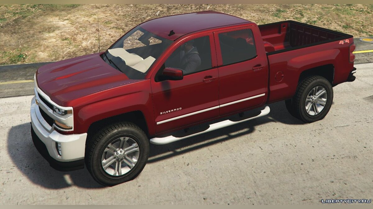 2017 Chevrolet Silverado LTZ 1500 Add-On/Replace 1.0 для GTA 5 - скриншот #3