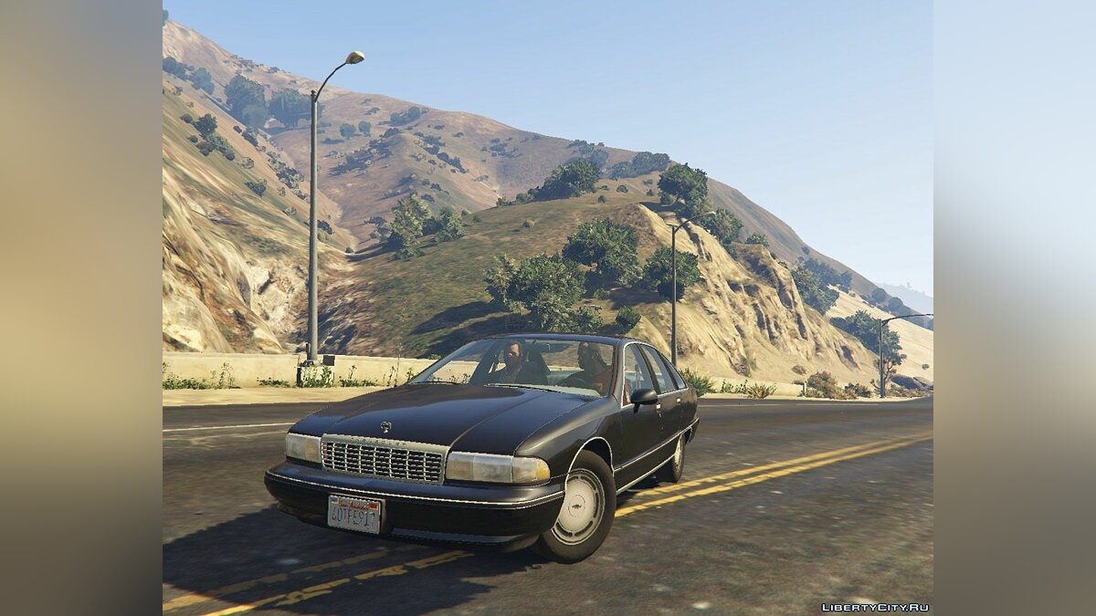 1994 Chevrolet Caprice [Replace] 1.0 для GTA 5 - скриншот #3