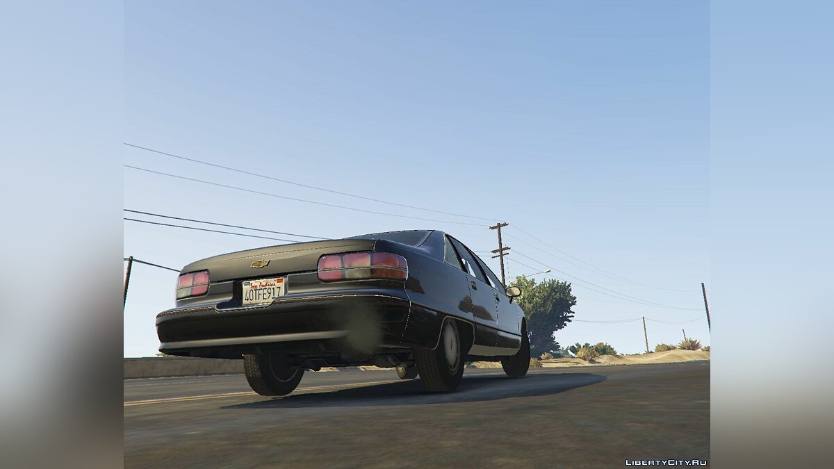 1994 Chevrolet Caprice [Replace] 1.0 для GTA 5 - скриншот #4