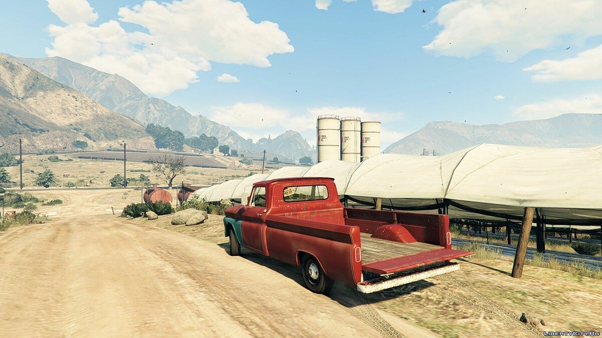 Машина Chevrolet 1965 Chevy C-20 (Old) для GTA 5