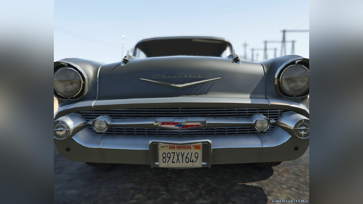 1957 Chevrolet Bel Air (Clean Version) 1.2 для GTA 5