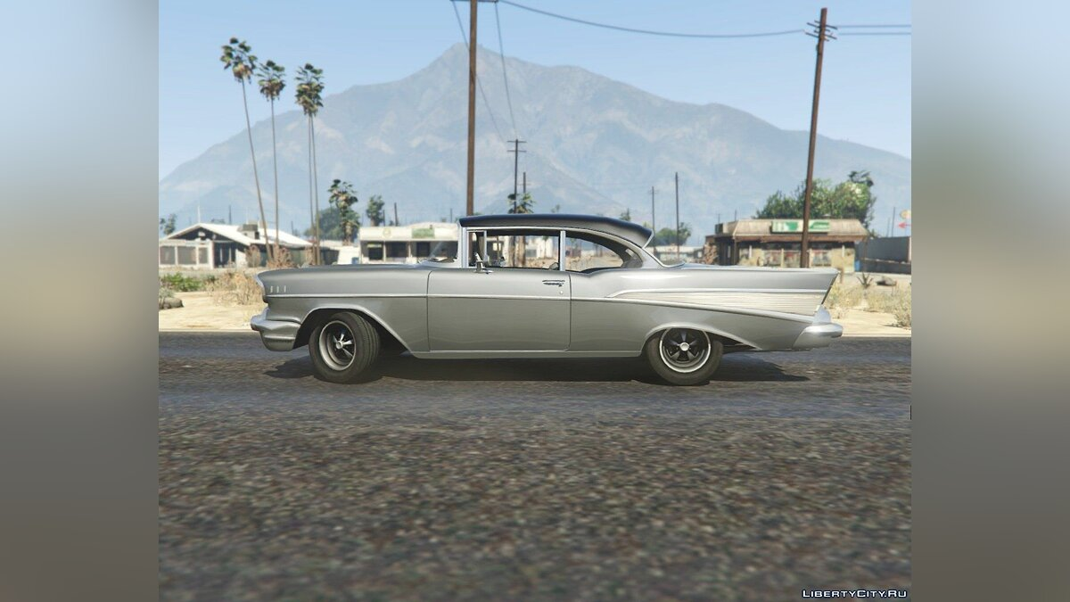 1957 Chevrolet Bel Air (Clean Version) 1.2 для GTA 5 - скриншот #2