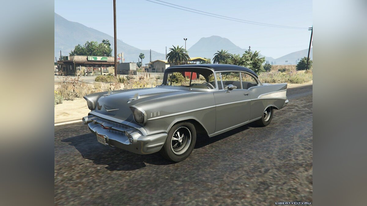 1957 Chevrolet Bel Air (Clean Version) 1.2 для GTA 5 - скриншот #5