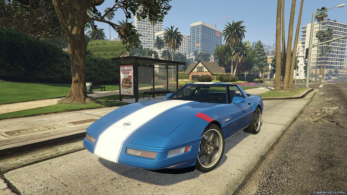 Chevrolet Corvette Grand Sport 1996 [Tuning] для GTA 5
