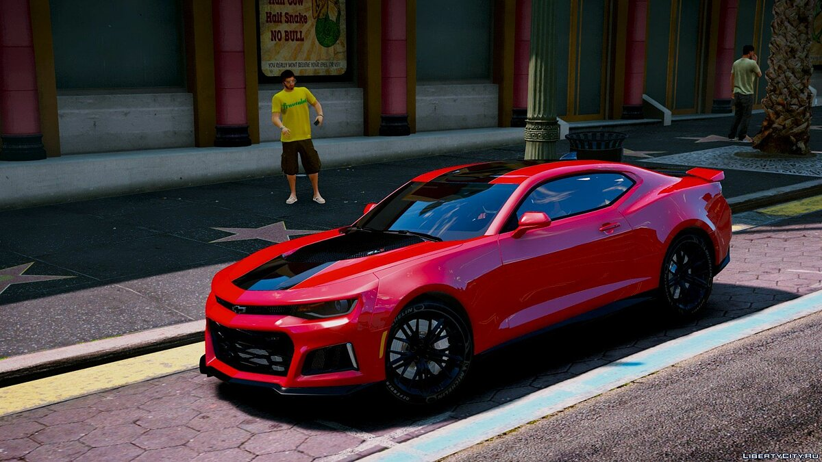 Chevrolet Camaro ZL1 2017 [Add-On/Replace|Animated|Template] 1.3 для GTA 5